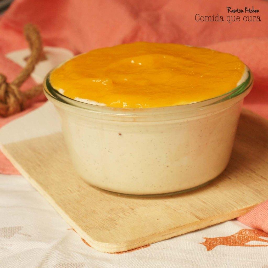 yogurt anacardos y mango